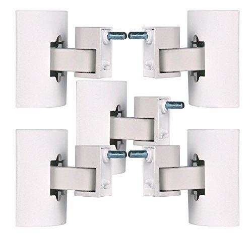 Bose UB-20 Series II White Wall/Ceiling Bracket (White 5-Pack) by Bose