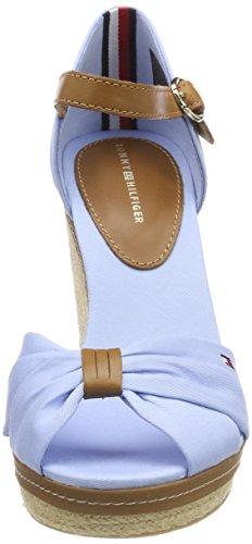 chambray Blue Para Cuña De Mujer Alpargatas Azul Hilfiger Elena Iconic 407 Tommy wZxBq1RR