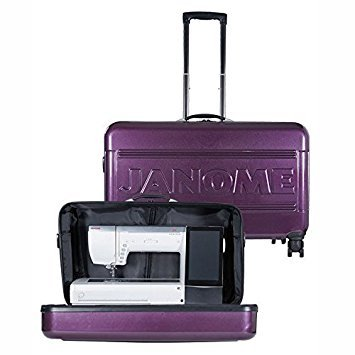 Janome MC 15000 Hard Roller Case by Janome
