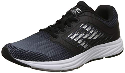 New Balance Men's 480v6 Running Shoe Black/Magnet 11 D US
