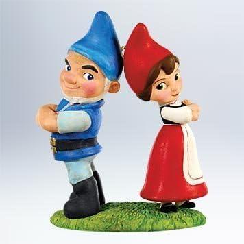 Gnomeo and Juliet QXD1019 2011 HALLMARK ~ Love On The Lawn