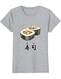 Sushi Roll with the Japanese Kanji for Sushi T-Shirt