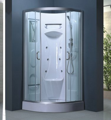Luxury Shower Room S 40 (Tray/Tub, Walls, Sliding Doors,