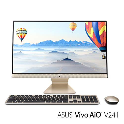 "ASUS Vivo AIO All-in-One Desktop PC, 23.8"" Full HD Touch Display, Intel Core i5 Processor, 8GB DDR4 RAM, 128GB SSD + 1TB HDD, Windows 10, V241FA-DS501T"