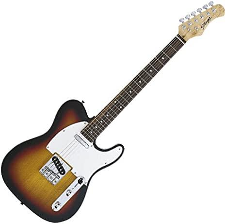 Stagg T320-SB - Guitarra eléctrica (tipo sunburst): Amazon.es ...