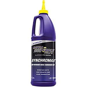 Royal Purple 01512 Synchromax High Performance Synthetic Manual Transmission Fluid - 1 Quart from Royal Purple