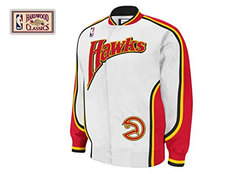 NBA Mitchell & Ness Atlanta Hawks Hardwood Classics On-Court Jacket (XX-Large) by Mitchell & Ness