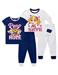 Paw Patrol Girls Pajamas Pack of 2