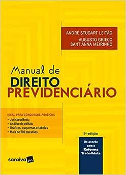 Manual de direito previdenciário - 5ª edição de 2018