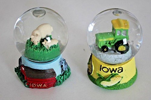 Water 45 Globe Mm (Iowa Water Globes, 45 mm)