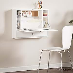 southern enterprises willingham wall mount folding laptop desk fold down desktop w. Black Bedroom Furniture Sets. Home Design Ideas