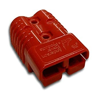 SB350 Wire or Busbar Contacts 2 Positions ANDERSON POWER PRODUCTS 913-BK-Connector Housing SB350 Series Red Hermaphroditic