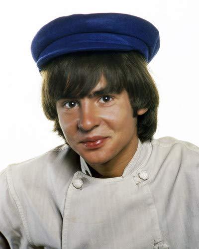 Davy Jones in The Monkees Classic Studio Portrait pop Icon in blue cap 8x10 Promotional Photograph