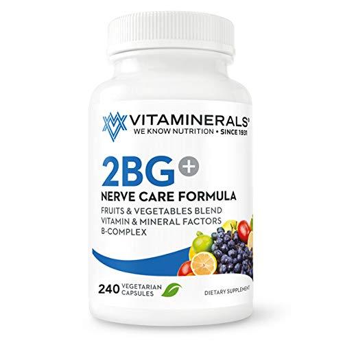 VITAMINERALS 2BG B Complex Immune Support High Potency B Complex and Multi-Vitamin 240