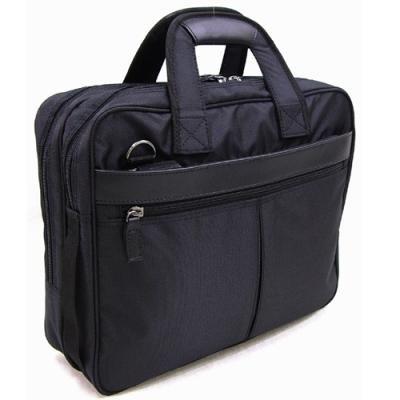 おしゃれ/カバン ビジネスバッグ 軽量 移動の際に便利な、ショルダー ベルトが付属 通勤通学 軽量撥水 ヴェルツェ 本革付属軽量ビジネスカジュアルバッグ ブラック(黒) B00MYQNXWU