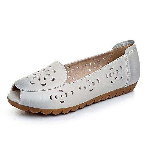 Madre sandalias zapatos de mujer Blanco