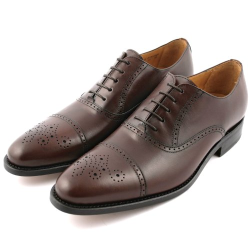 Exclusif Paris Russel 43, Richelieus Cuir Marron Taille 43