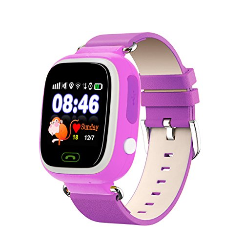 bdqfei tm baby kids smart watch phone with gps tracker. Black Bedroom Furniture Sets. Home Design Ideas