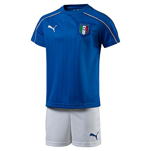 2016-2017 Italy Puma Home Mini Kit,Blue,5-6 Years