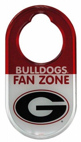 NCAA Georgia Bulldogs Door Hanger Do Not Disturb Sign