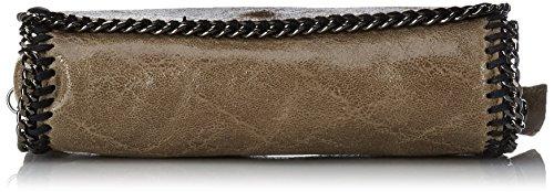 Chicca Borse 10010 Pochette da Giorno, 20 cm, Fango