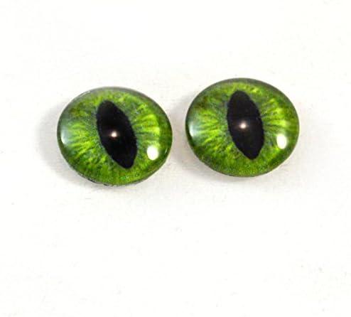 Reptilian Eyes Fantasy Eyes Glass Eyes Cat eyes High-end Cabochons DE084 Dragon Eyes High Quality Human Eyes Steampunk Handmade