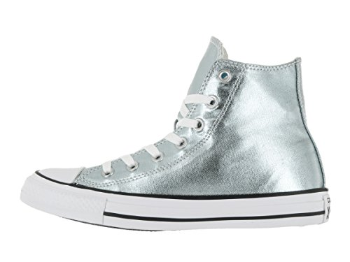 Converse Unisex Chuck Taylor All Star Hi Basketball Shoe Metallic Glacier/White/Black wMqI80Gl5C