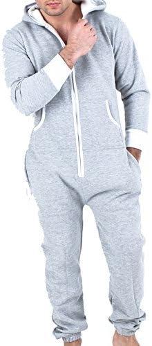 Juicy Trendz® Mono para hombre adulto, pijama de una sola pieza, unisex