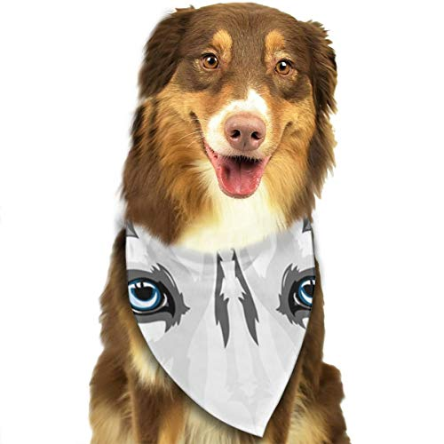 Pet Scarf Dog Bandana Bibs Triangle Head Scarfs Husky Accessories for Cats Baby Puppy ()