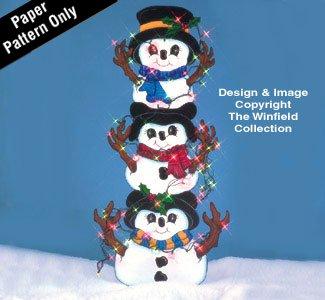 Wood Snowman Patterns - 8