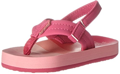 Reef Mädchen Little Ahi Sandalen Mehrfarbig (Pink/Stripes)
