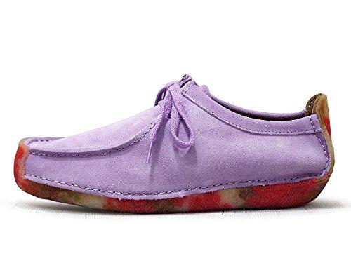 Clarks Originals Ladies Natalie Lilac Combi uk Size 5  Amazon.co.uk  Shoes    Bags 022aa70152