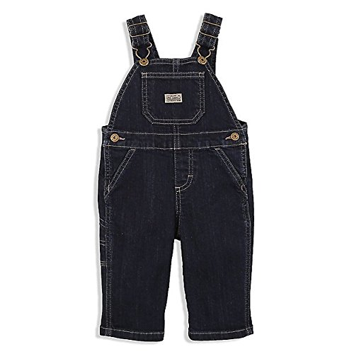- Wrangler Baby Toddler Infant Denim Bib Overalls - My First (12 Month)