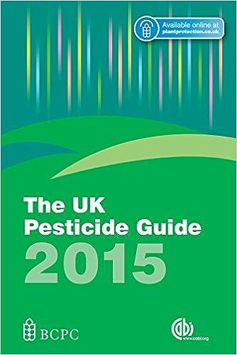 The UK Pesticide Guide 2015 [OP]
