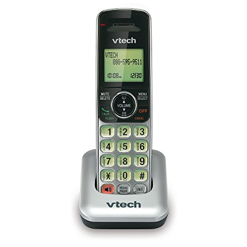 VTech CS6409 DECT 6.0 Cordless Accessory Handset for CS6419 and CS6429 (Accessory (Design Series Cordless Telephone)