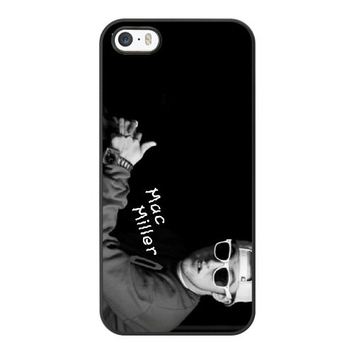 mac-miller-phone-cover-case-for-apple-iphone-5-5s-se-black-hard-plastic-ultra-slim-case-mctag286538
