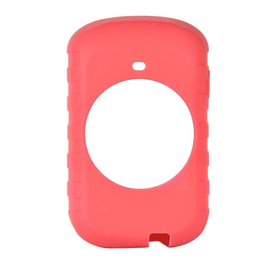 Carplink Silicone Case for Garmin Edge 830 GPS Sat Nav Protective Cover Skin Bike Navigation Computer Accessory Red