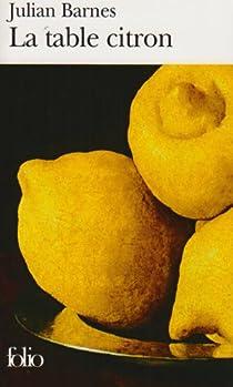 La table citron par Barnes