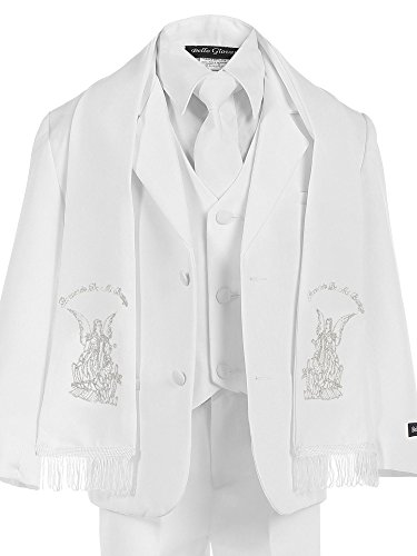 White Angels Embroidered Dress - 9