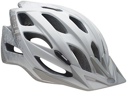 Bell Slant Helmet - Matte White/Silver Braille
