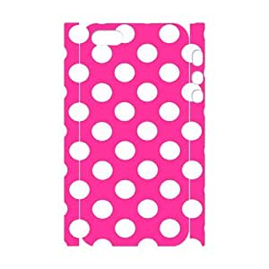WJHSSB Cell phone Protection Cover 3D Case Polka dot For Iphone 5,5S