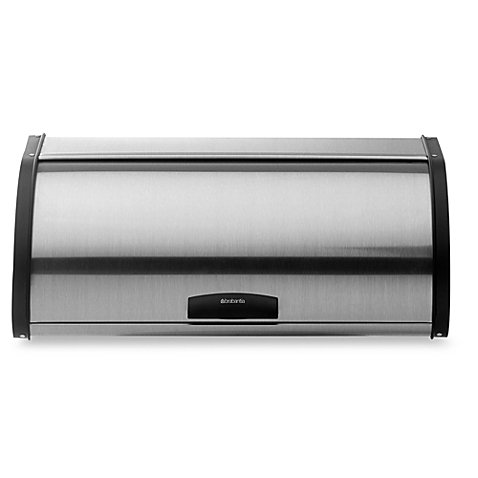 - Brabantia Fingerprint-Proof Bread Box