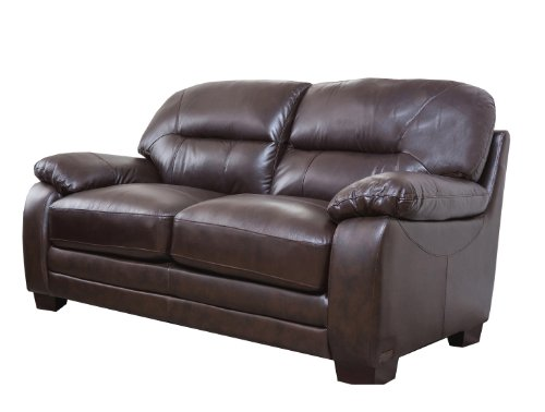 Abbyson® Living Hollywood Italian Leather (Italian Leather Sofa)