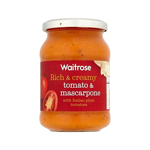 De Tomate Y Pasta De Mascarpone Waitrose Salsa De 345G - Paquete de 6