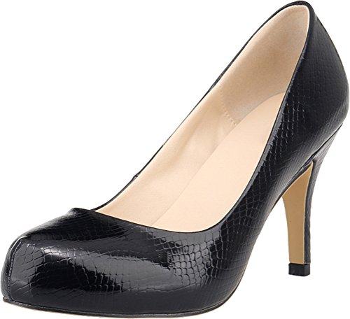 Salabobo Sandales Plateforme Femme - Noir - Noir 1Xr7U4AQH,