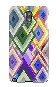 Unique Design Galaxy Note 3 Durable Tpu Case Cover Vector Art