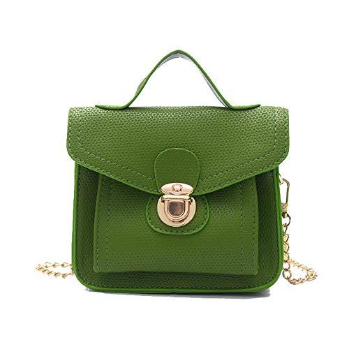 Tote Green Green Crossbody AalarDom TSDBG221519 Bags Casual Pu Bags Women's 4wqEB
