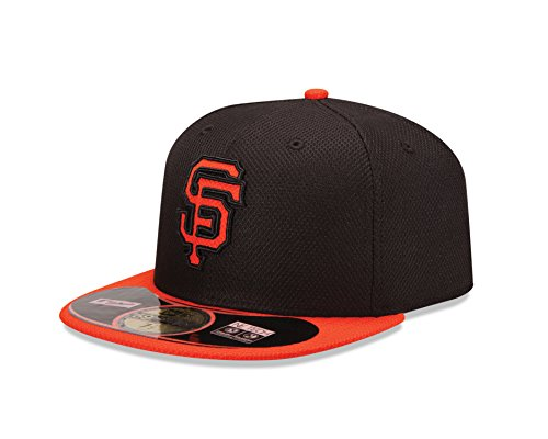 MLB San Francisco Giants Men's Authentic Diamond Era 59FIFTY Fitted Cap, 814, Black