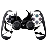 Silhouette Cupid Arrow Cherub Black White Printed Design PS4 DualShock4 Controller Vinyl Decal Sticker Skin by Smarter Designs